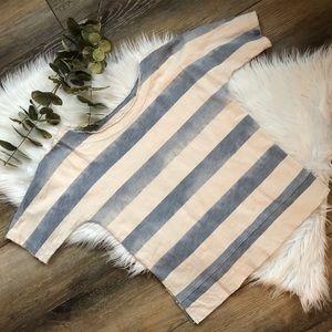 Madewell Crop Top Madewell Knit Shirt XS